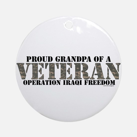 Operation Iraqi Freedom Ornament (Round)