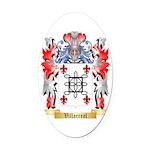 Villarreal Oval Car Magnet