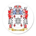 Villarreal Round Car Magnet