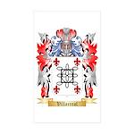 Villarreal Sticker (Rectangle 50 pk)