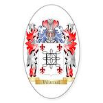 Villarreal Sticker (Oval 10 pk)