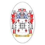 Villarreal Sticker (Oval 50 pk)