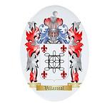 Villarreal Oval Ornament