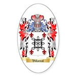 Villareal Sticker (Oval 10 pk)