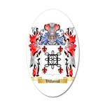 Villareal 35x21 Oval Wall Decal