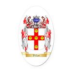 Villar Oval Car Magnet