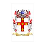 Villar Sticker (Rectangle 10 pk)