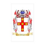 Villar Sticker (Rectangle 50 pk)