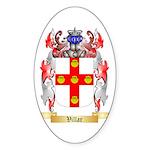 Villar Sticker (Oval 10 pk)
