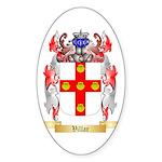 Villar Sticker (Oval 50 pk)