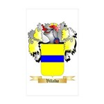 Villalba Sticker (Rectangle 50 pk)