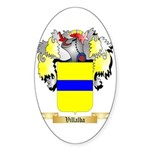 Villalba Sticker (Oval 50 pk)