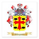 Villagomez Square Car Magnet 3