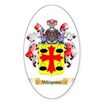 Villagomez Sticker (Oval 10 pk)