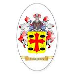 Villagomez Sticker (Oval 50 pk)