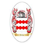 Villa Sticker (Oval 50 pk)