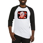 Poison Skull & Flames Baseball Jersey