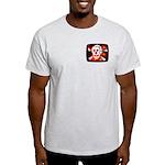 Poison Skull & Flames Light T-Shirt