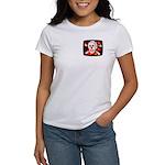 Poison Skull & Flames Women's T-Shirt