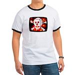 Poison Skull & Flames Ringer T