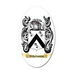Vilhelmsson 35x21 Oval Wall Decal