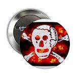 Poison Skull & Flames 2.25
