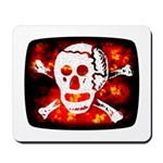 Poison Skull & Flames Mousepad
