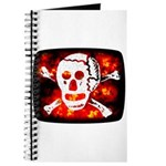 Poison Skull & Flames Journal