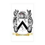 Vilhelmsen Sticker (Rectangle 50 pk)