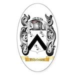 Vilhelmsen Sticker (Oval 50 pk)