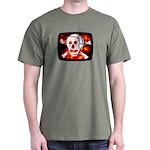 Poison Skull & Flames Dark T-Shirt