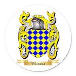 Vilanova Round Car Magnet