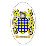 Vilanova Sticker (Oval 50 pk)