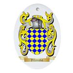 Vilanova Oval Ornament