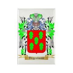 Vijgenboom Rectangle Magnet (10 pack)