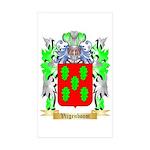 Vijgenboom Sticker (Rectangle 10 pk)