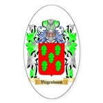 Vijgenboom Sticker (Oval)