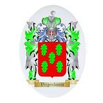 Vijgenboom Oval Ornament