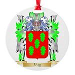Vijg Round Ornament