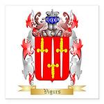 Vigurs Square Car Magnet 3