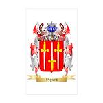 Vigurs Sticker (Rectangle 50 pk)