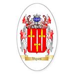 Vigurs Sticker (Oval 50 pk)