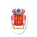 Vigurs 20x12 Oval Wall Decal