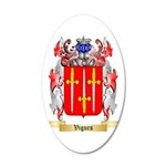 Vigurs 35x21 Oval Wall Decal