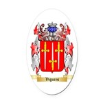 Vigures Oval Car Magnet