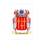 Vigures Sticker (Rectangle 50 pk)