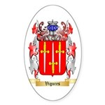 Vigures Sticker (Oval 50 pk)