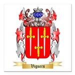 Viguers Square Car Magnet 3