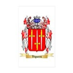 Viguers Sticker (Rectangle 50 pk)