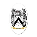 Vigliotto 20x12 Oval Wall Decal